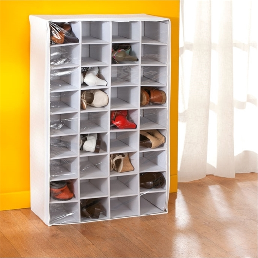 36 pair shoe organiser