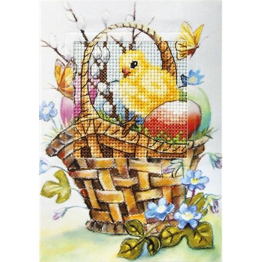 Borduurkaart lente