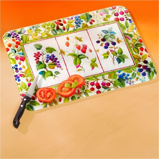 Tutti frutti chopping board