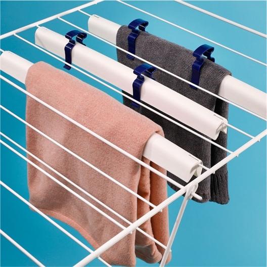 3 stangen om truien aan te drogen