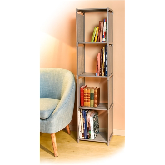 Easy setup bookshelves
