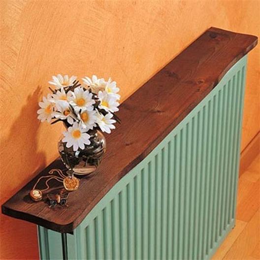 Tablette radiateur bois 100 cm