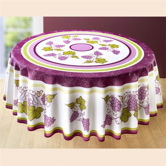 Nappe grappes de raisin : Rectangulaire ou Ronde