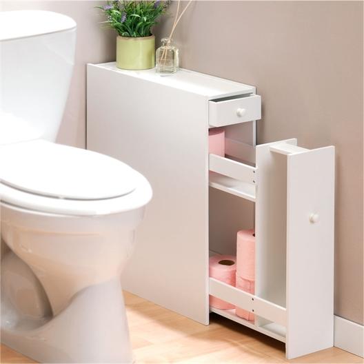Opbergmeubel voor het toilet