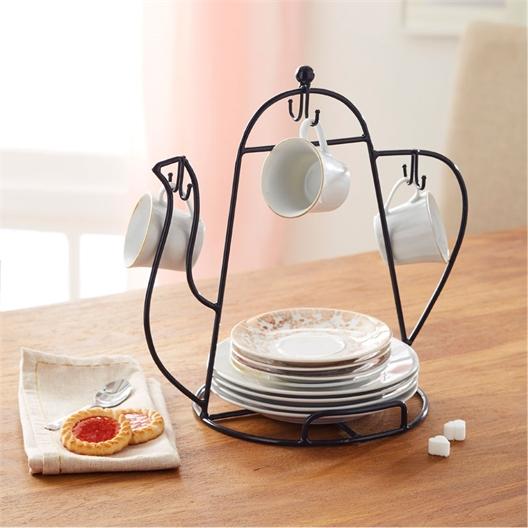 Tassengestell Teekanne
