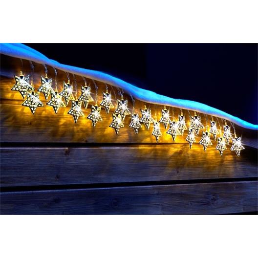 Solar lichtslinger met 12 sterren