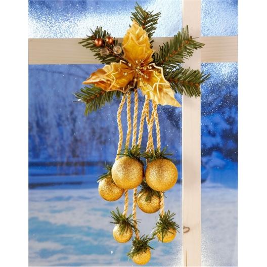 Décoration Noël dorée