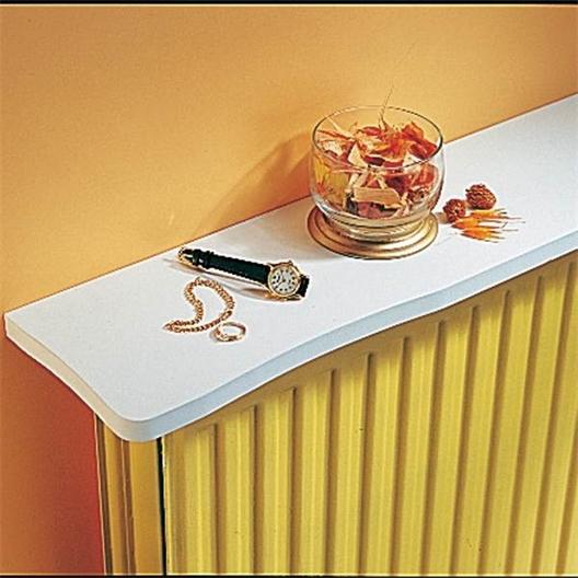 Wit radiatorblad 80 cm