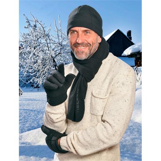 Handschoenen of Set muts + sjaal + handschoenen