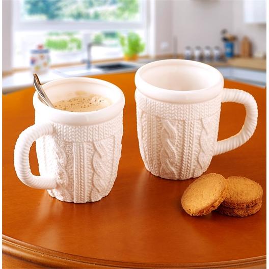 2 Strick-Tassen