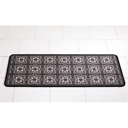 Grey Cement tile mat 50 x 120 cm
