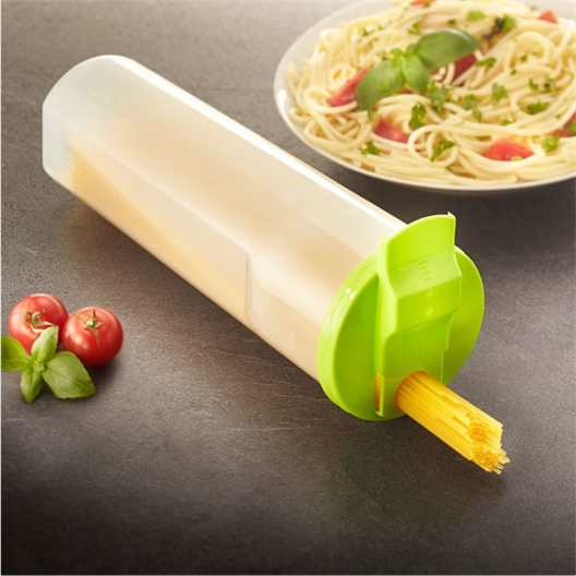 Spaghetti measuring container
