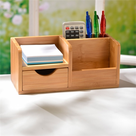 Bureau-organizer bamboe