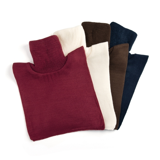 Set van 4 borstlappen voor de winter