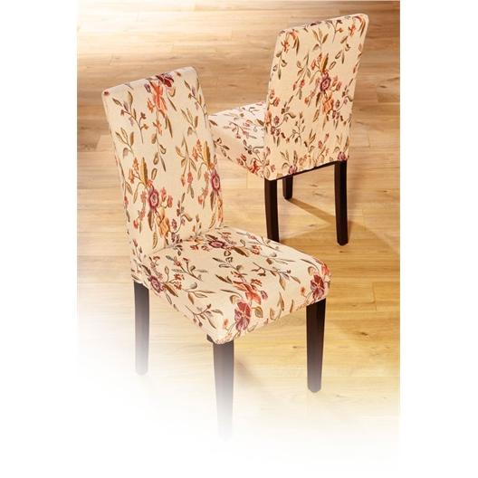 Fleurige stoelhoes of set van 2