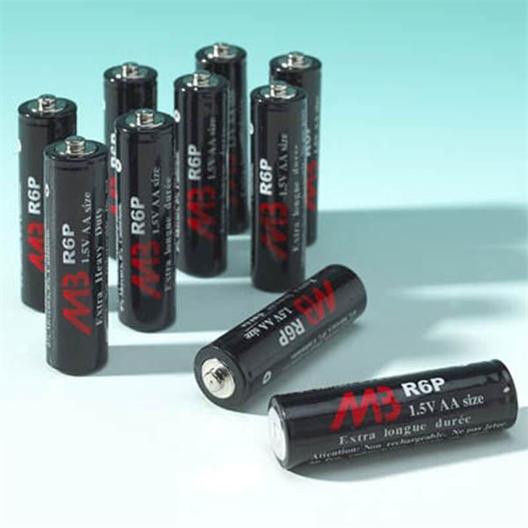 Set van 10 AA-batterijen