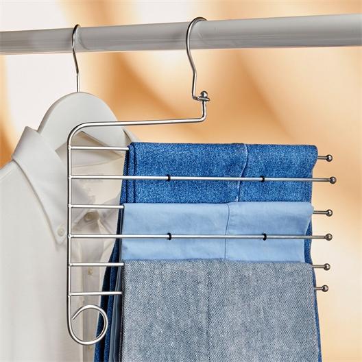 Cintres pour pantalons en métal