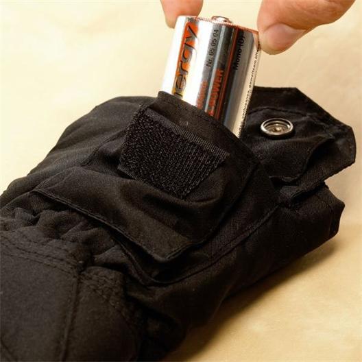 4 Round Batteries R20p
