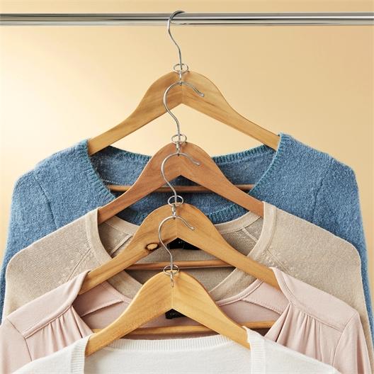 Verbinder-Ösen für Kleiderbügel