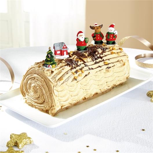 Decoratiefiguurtjes voor kerstgebak
