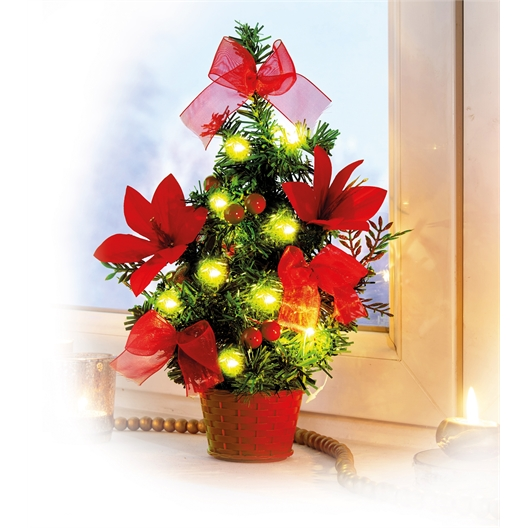 Mini LED Christmas tree or Set of 2