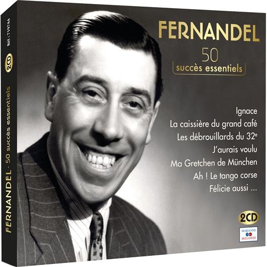 Fernandel 50 SUCCÈS ESSENTIELS