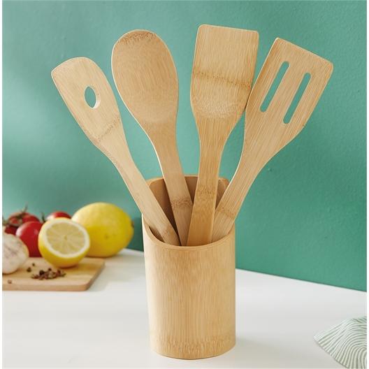 Küchenutensilien Bambus