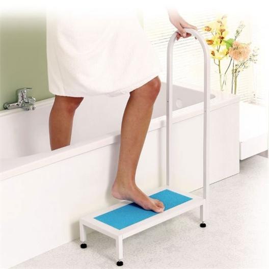 Marche/poignée salle de bain