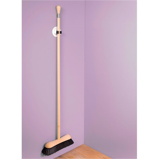 Nanostick® broom holder