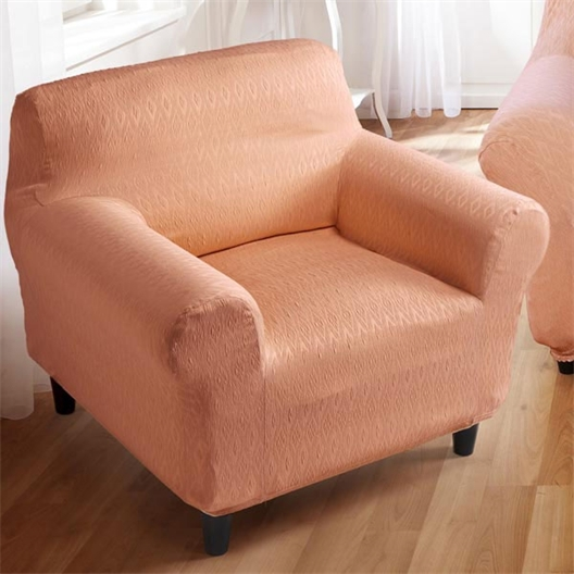 Elasticated armchair cover