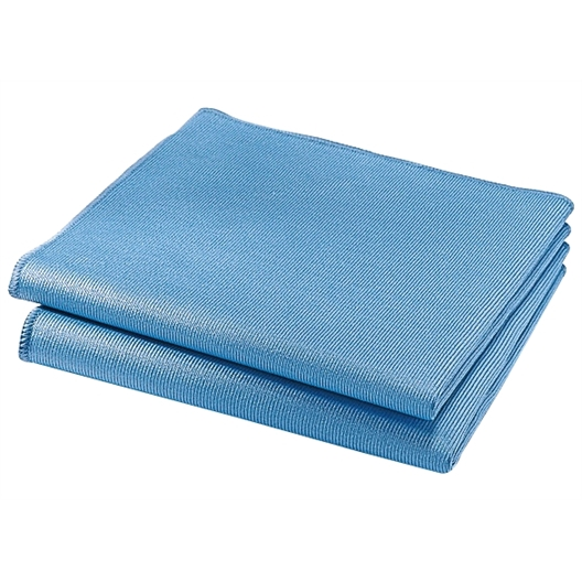 2 Special micro-fibre window cleaning cloths