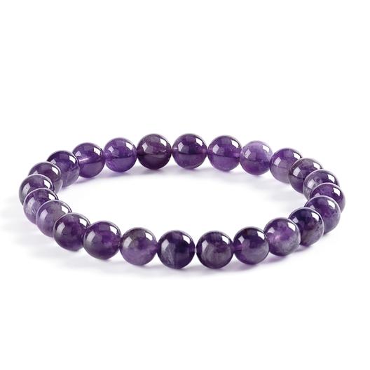 Bracelet pierre naturelle oeil de tigre Amethyste