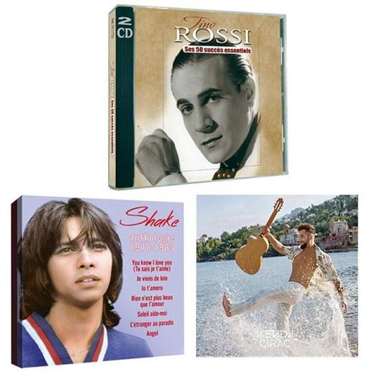 """Girac + Shake + Rossi"" (5CD)"