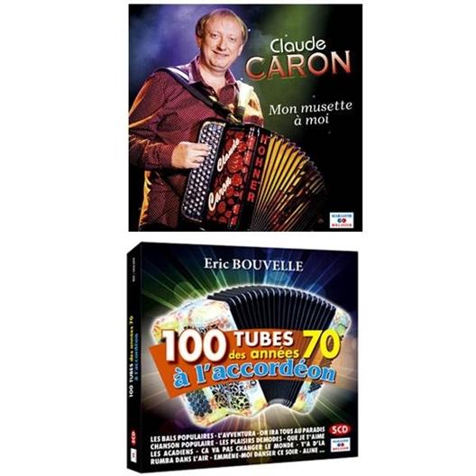 Lot 6 CD accordéon