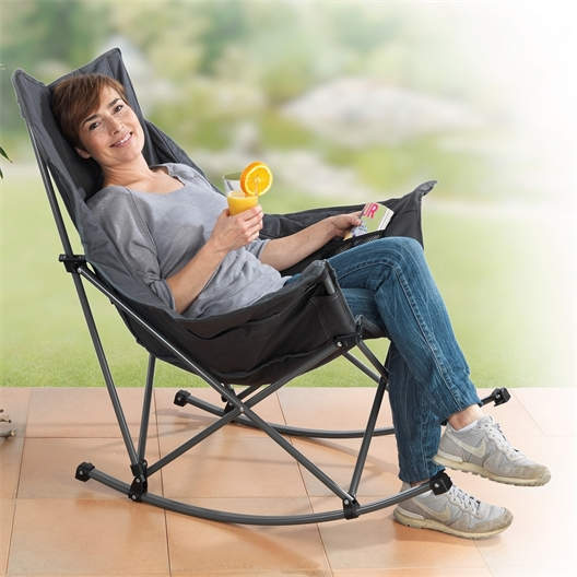 Opvouwbare schommelstoel