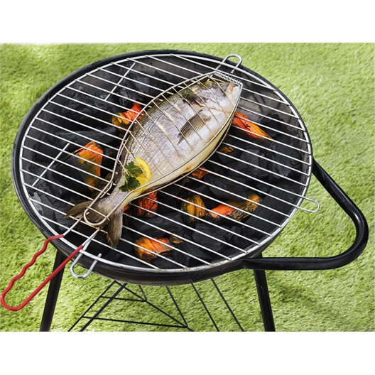 Fish grill basket