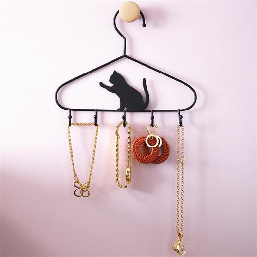 2 hangers voor accessoires - kat