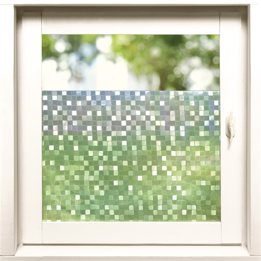 Mosaic privacy film or Set of 2