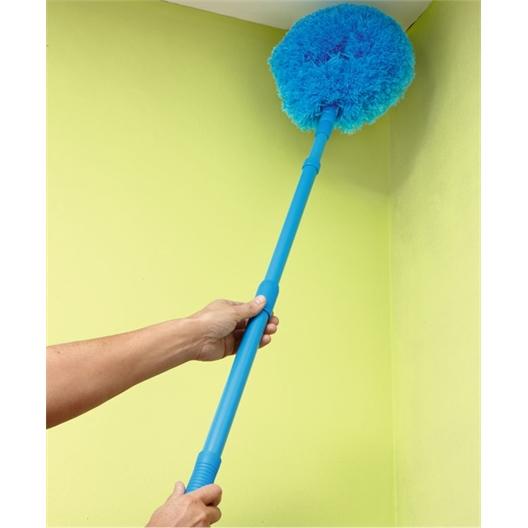 Micro-fibre ceiling brush