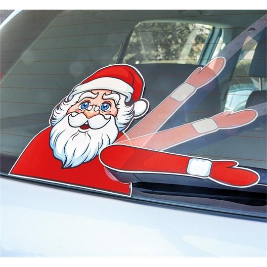 Scheibenwischer-Sticker Weihnachten