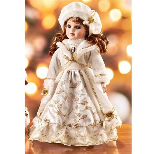 Poupée d'ornement Rosaline - Poupée d'ornement Blandine