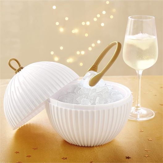 Christmas bauble ice bucket