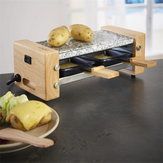 Raclette pierre et bambou