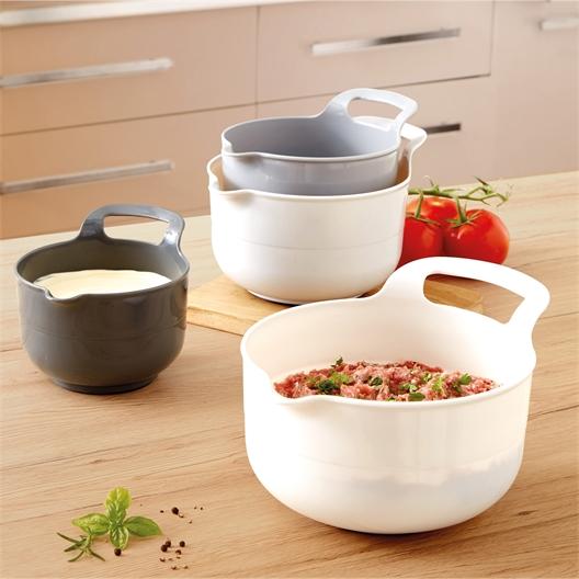 4 mixing bowls