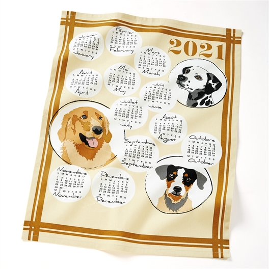 Geschirrtücher Kalender 2021