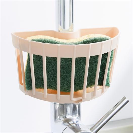 Clip-on sponge holder