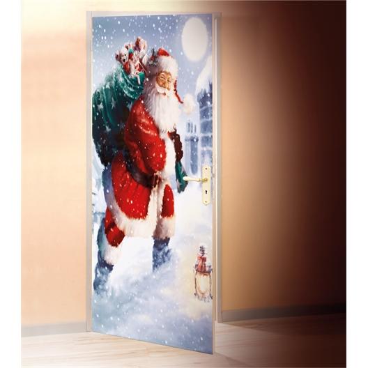 Kerstfolie voor deur