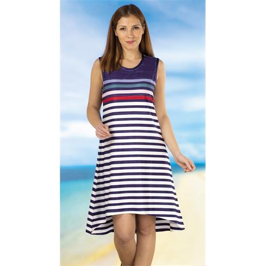 Striped dress Striped dress - size 10