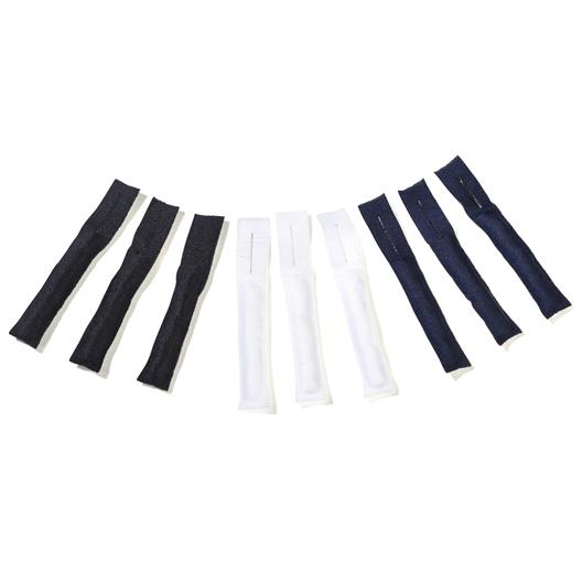 Set of 9 zipper-pulls