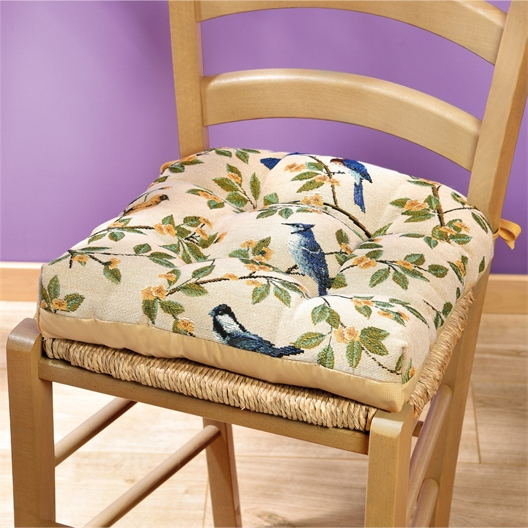 Bird chair pad or Set of 2